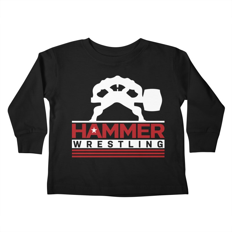 HAMMER USA Kids Toddler Longsleeve T-Shirt by Hammer Wrestling's Apparel Shop