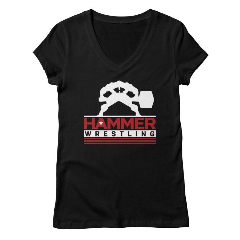 HAMMER USA Women's Regular V-Neck by Hammer Life Apparel Shop
