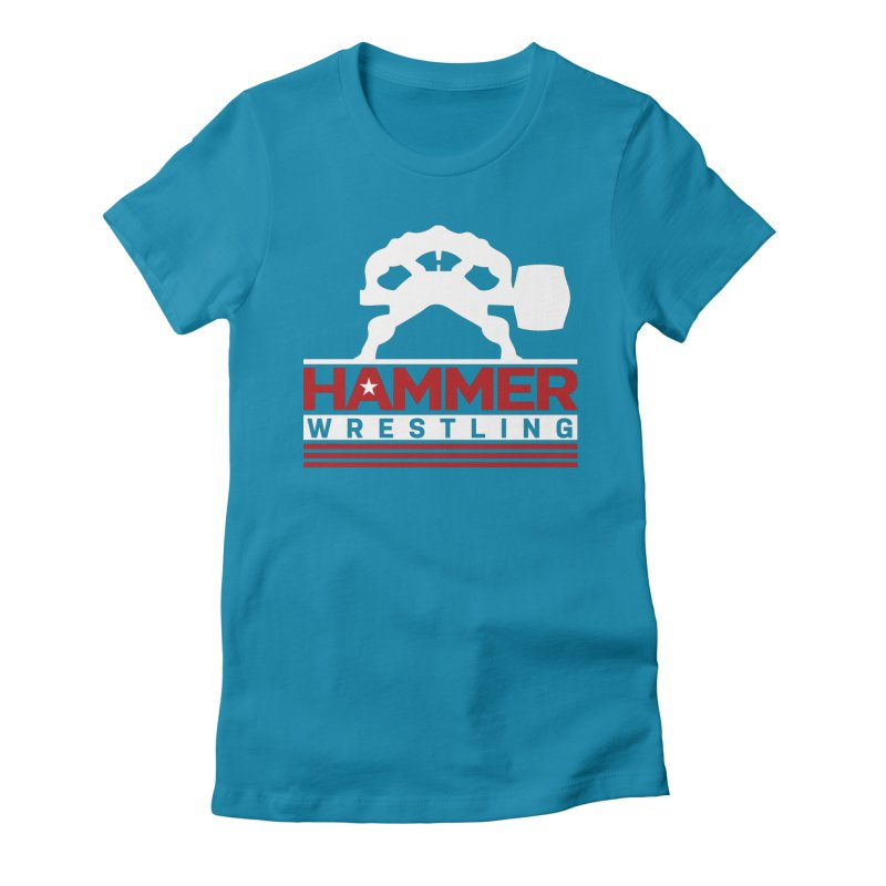 HAMMER USA Women's Fitted T-Shirt by Hammer Life Apparel Shop