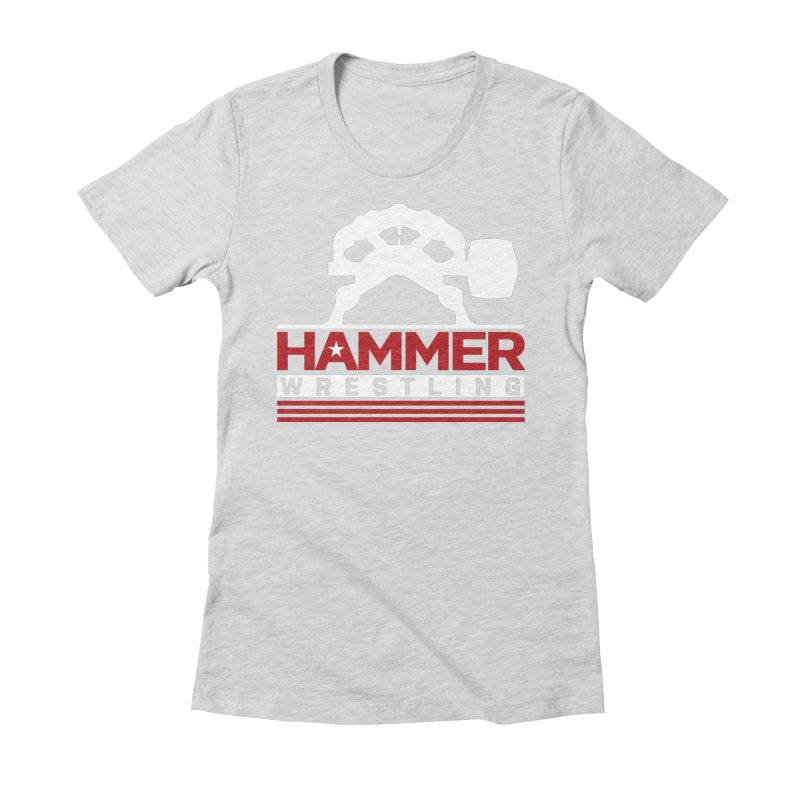 HAMMER USA Women's Fitted T-Shirt by Hammer Apparel Shop