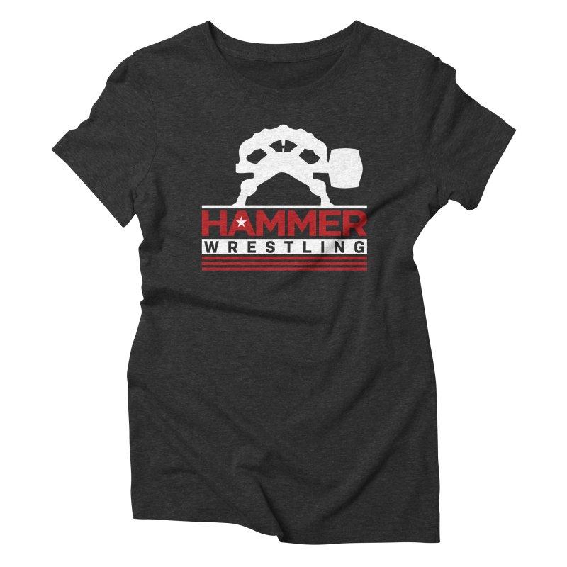 HAMMER USA Women's Triblend T-Shirt by Hammer Apparel Shop