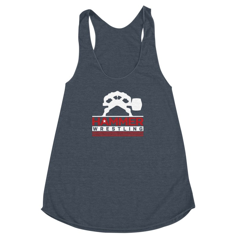HAMMER USA Women's Racerback Triblend Tank by Hammer Apparel Shop
