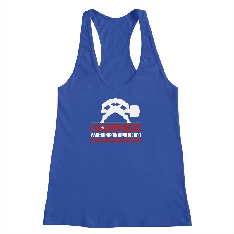 HAMMER USA Women's Racerback Tank by Hammer Apparel Shop