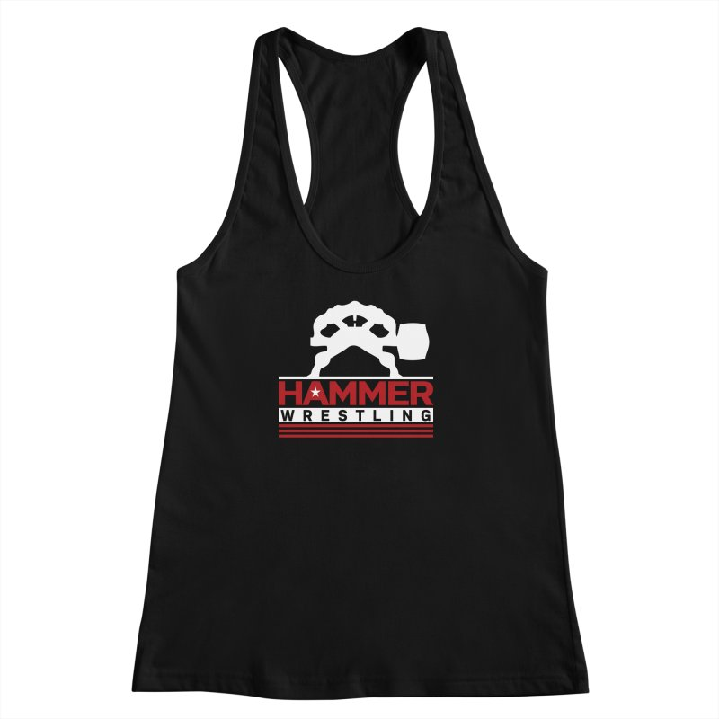 HAMMER USA Women's Racerback Tank by Hammer Wrestling's Apparel Shop