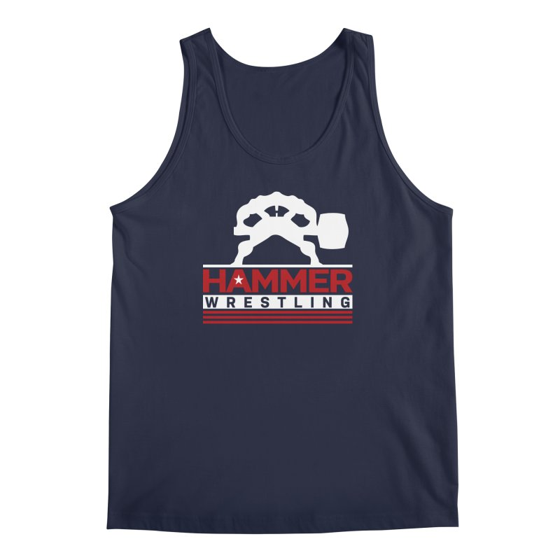 HAMMER USA Men's Tank by Hammer Wrestling's Apparel Shop