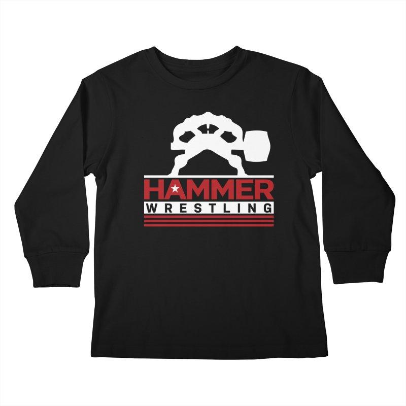 HAMMER USA Kids Longsleeve T-Shirt by Hammer Wrestling's Apparel Shop