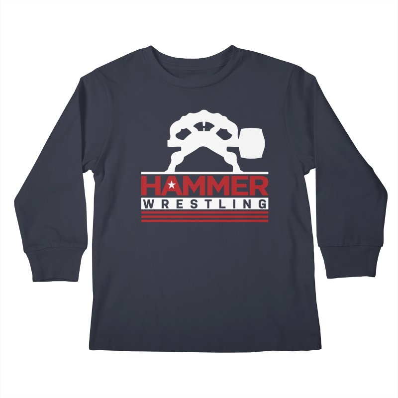 HAMMER USA Kids Longsleeve T-Shirt by Hammer Wrestling's Apparel Shop