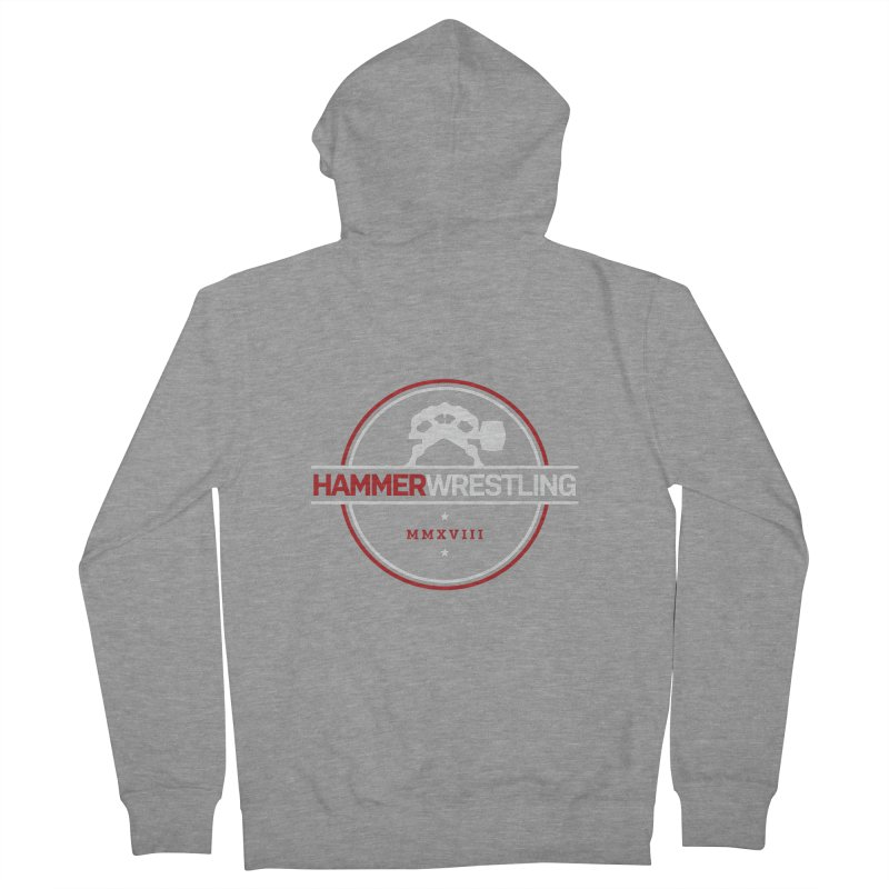 HAMMER MMXVII ZIP-UP HOODIES Women's French Terry Zip-Up Hoody by Hammer Wrestling's Apparel Shop