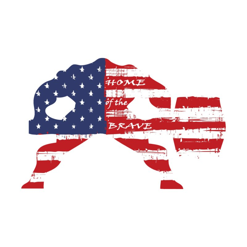 BE BRAVE - 4TH OF JULY EDITION by Hammer Wrestling's Apparel Shop