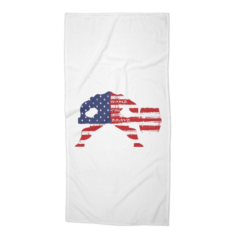 HAMMER AMERICA Accessories Beach Towel by Hammer Apparel Shop