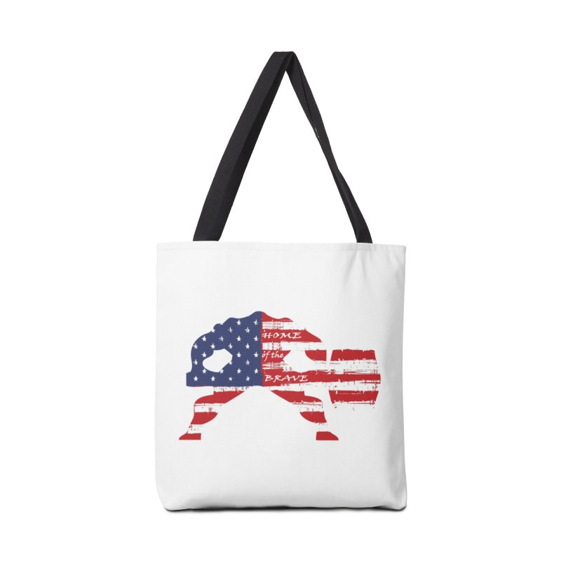 BE BRAVE - 4TH OF JULY EDITION Accessories Bag by Hammer Wrestling's Apparel Shop