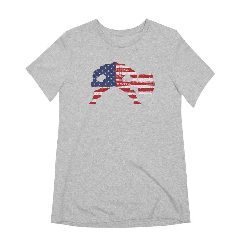 HAMMER AMERICA Women's Extra Soft T-Shirt by Hammer Apparel Shop