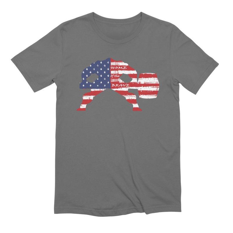 HAMMER BRAVE Men's Extra Soft T-Shirt by Hammer Apparel Shop
