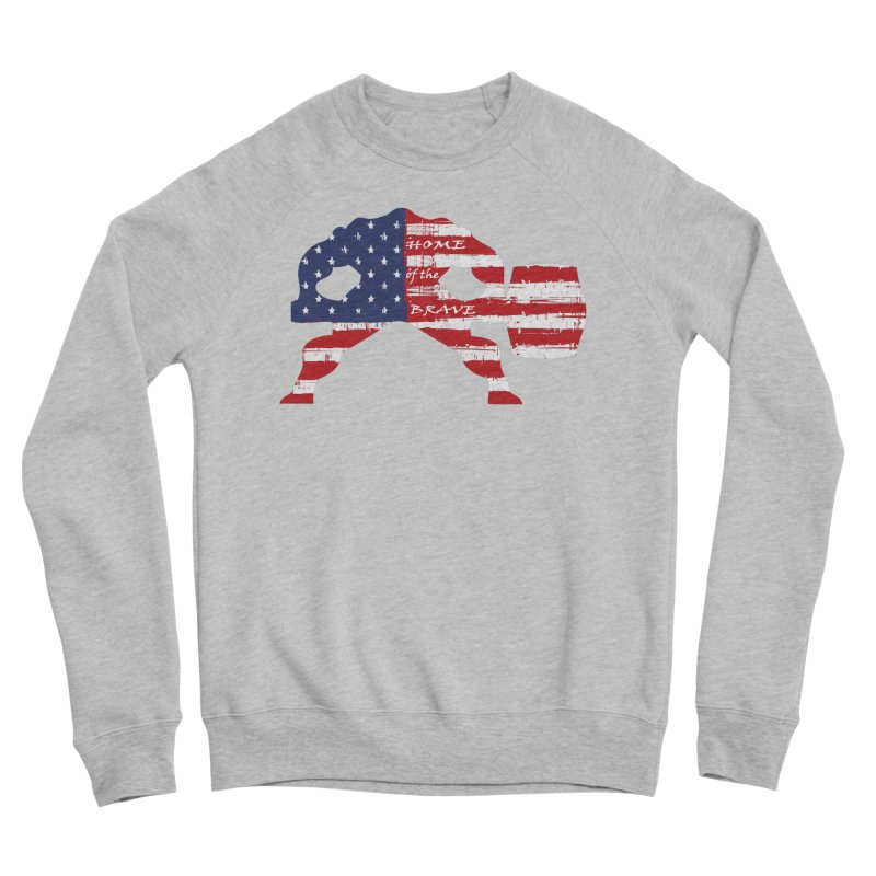 HAMMER AMERICA Women's Sponge Fleece Sweatshirt by Hammer Apparel Shop