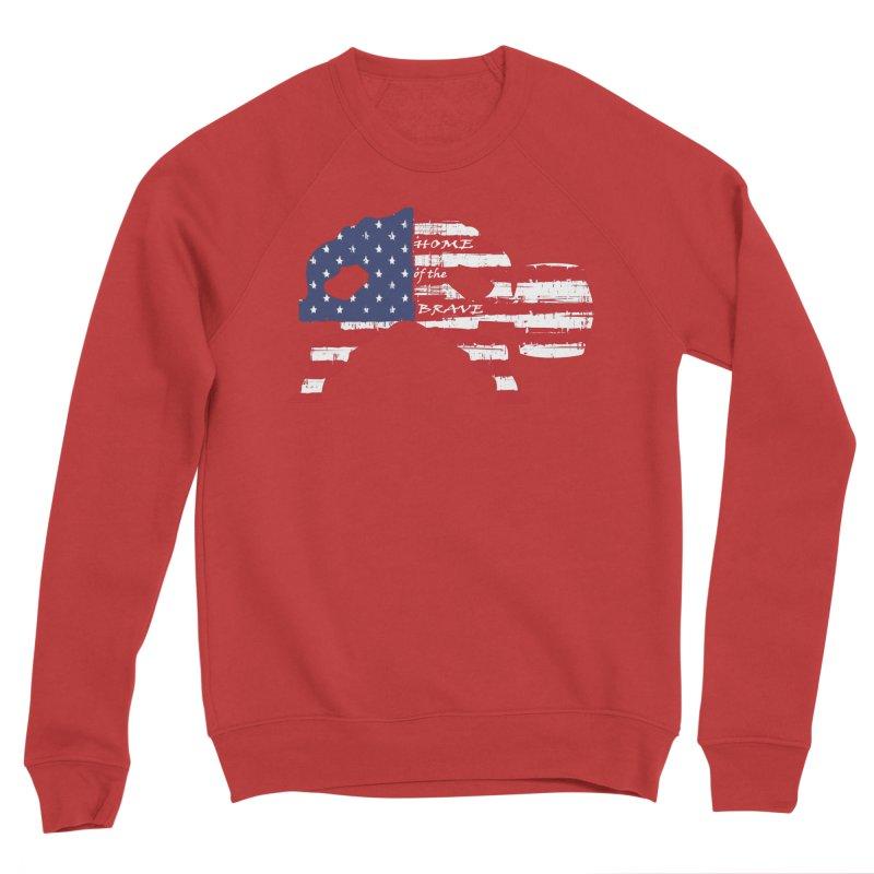 HAMMER AMERICA Men's Sponge Fleece Sweatshirt by Hammer Apparel Shop