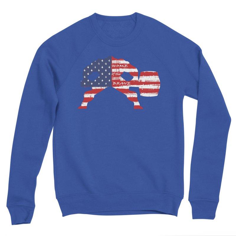 HAMMER BRAVE Men's Sponge Fleece Sweatshirt by Hammer Apparel Shop