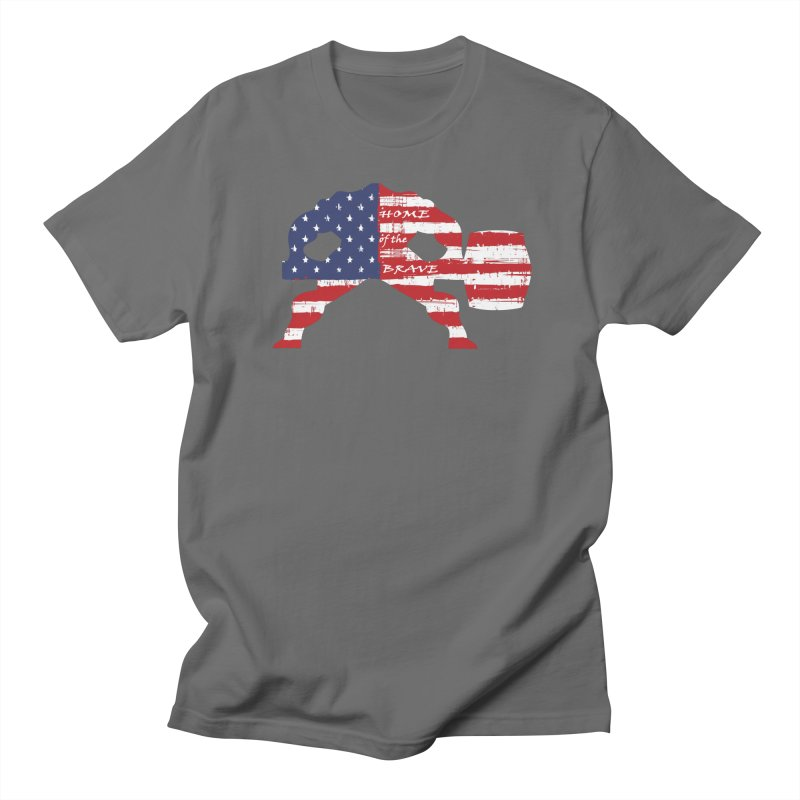 BE BRAVE - 4TH OF JULY EDITION Women's T-Shirt by Hammer Wrestling's Apparel Shop