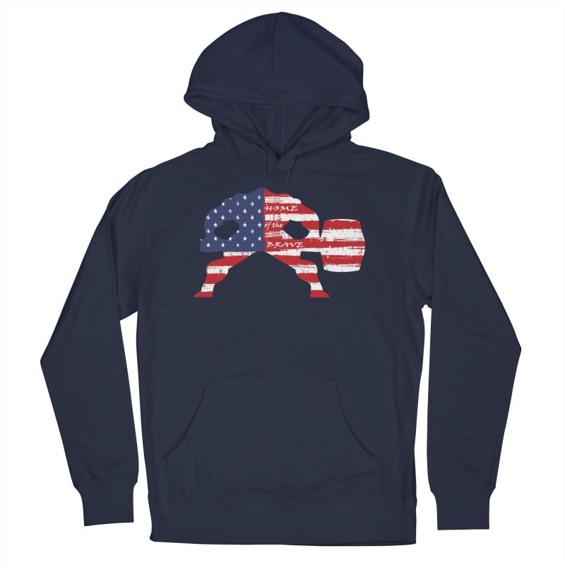 HAMMER AMERICA Women's French Terry Pullover Hoody by Hammer Apparel Shop