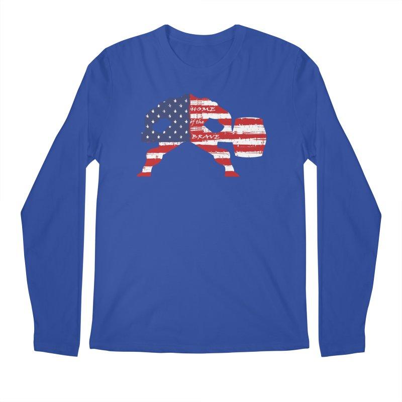 HAMMER THE BRAVE Men's Regular Longsleeve T-Shirt by Hammer Life Apparel Shop