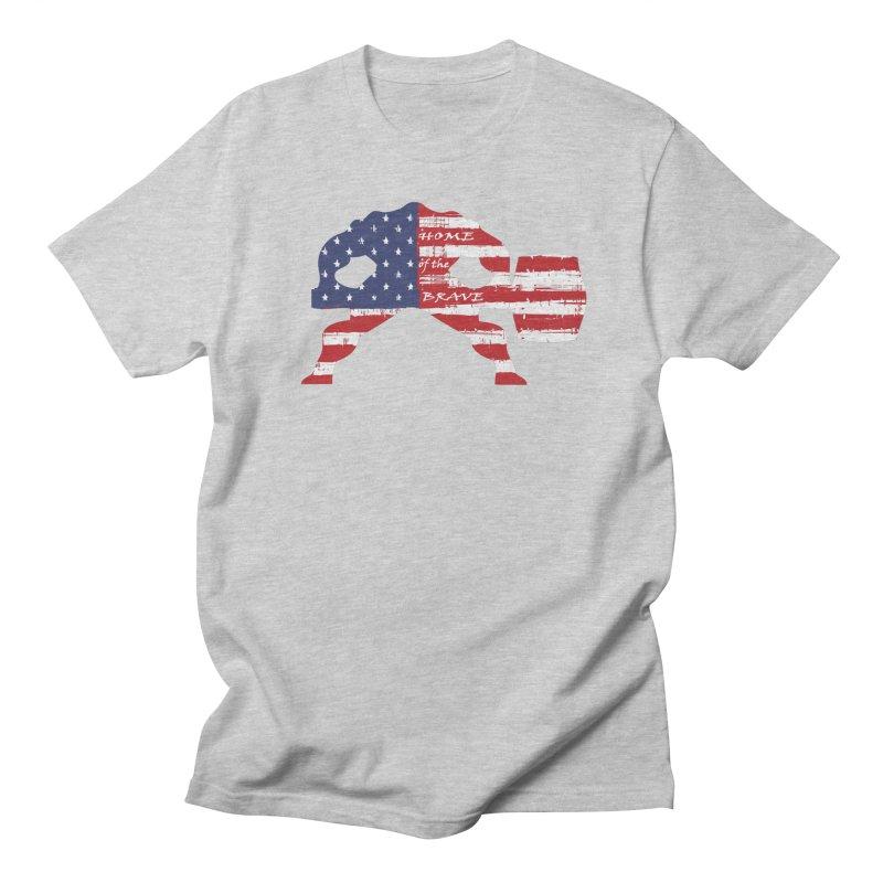 HAMMER THE BRAVE Women's Regular Unisex T-Shirt by Hammer Life Apparel Shop