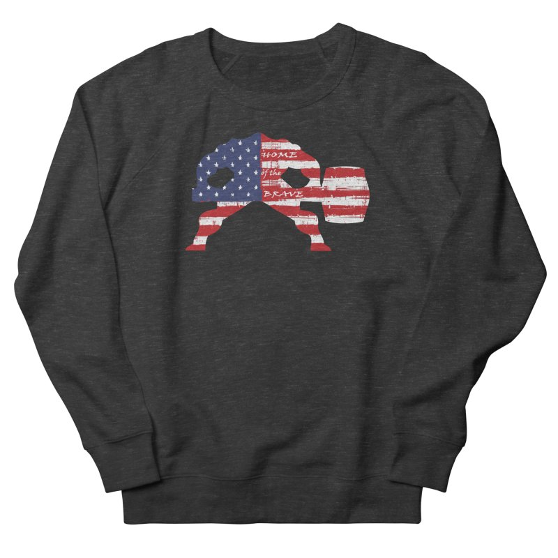 Hammer - BE BRAVE - 4TH OF JULY EDITION Women's French Terry Sweatshirt by Hammer Life Apparel Shop