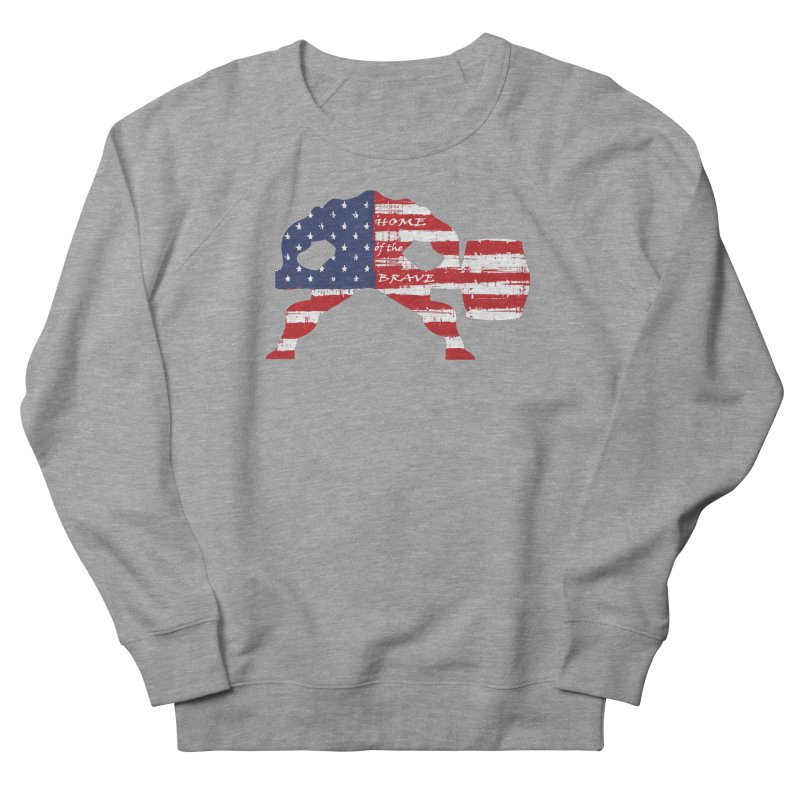 HAMMER BRAVE Men's French Terry Sweatshirt by Hammer Apparel Shop