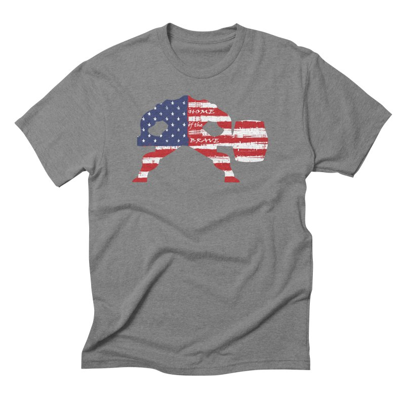 HAMMER AMERICA Men's Triblend T-Shirt by Hammer Apparel Shop