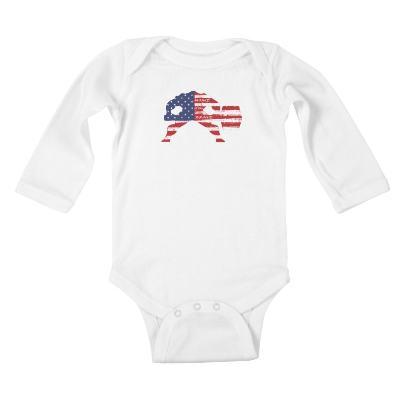 HAMMER THE BRAVE Kids Baby Longsleeve Bodysuit by Hammer Life Apparel Shop