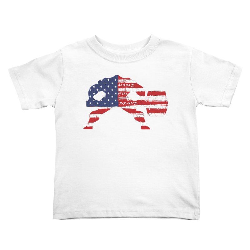 HAMMER AMERICA Kids Toddler T-Shirt by Hammer Apparel Shop