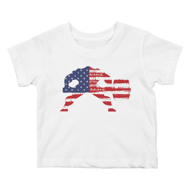 HAMMER THE BRAVE Kids Baby T-Shirt by Hammer Life Apparel Shop