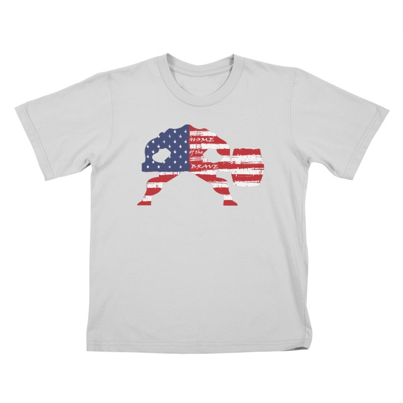 HAMMER THE BRAVE Kids T-Shirt by Hammer Life Apparel Shop