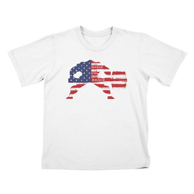 HAMMER BRAVE Kids T-Shirt by Hammer Apparel Shop