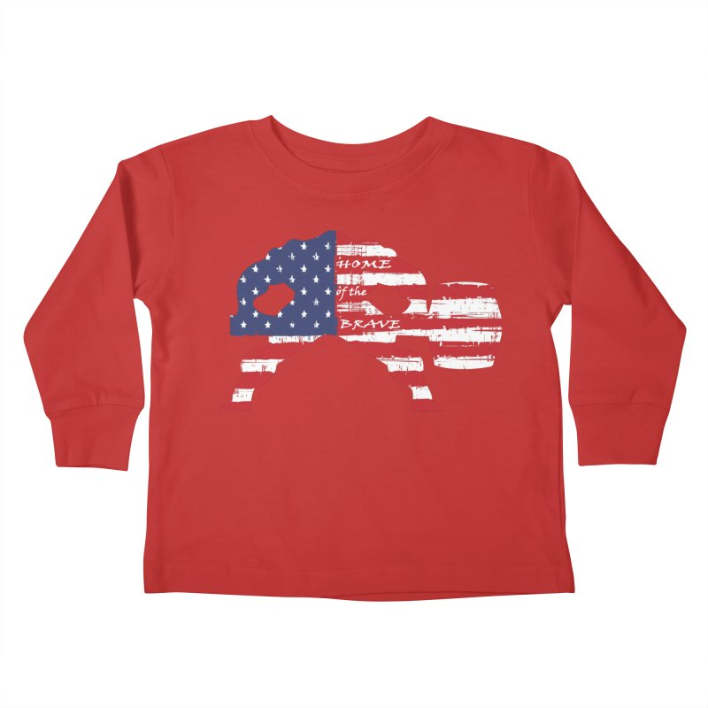HAMMER AMERICA Kids Toddler Longsleeve T-Shirt by Hammer Apparel Shop