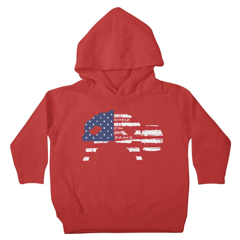 HAMMER AMERICA Kids Toddler Pullover Hoody by Hammer Apparel Shop