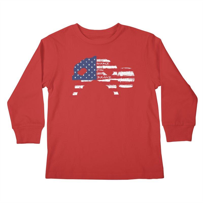 HAMMER BRAVE Kids Longsleeve T-Shirt by Hammer Apparel Shop
