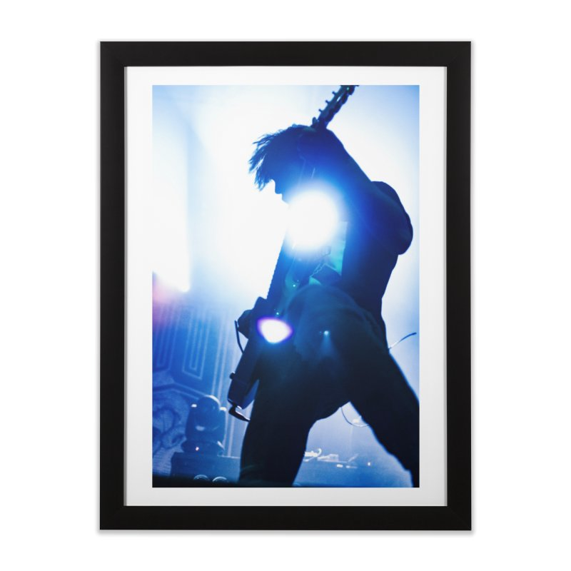 Strobe Home Framed Fine Art Print by Hamster Age's Artist Shop