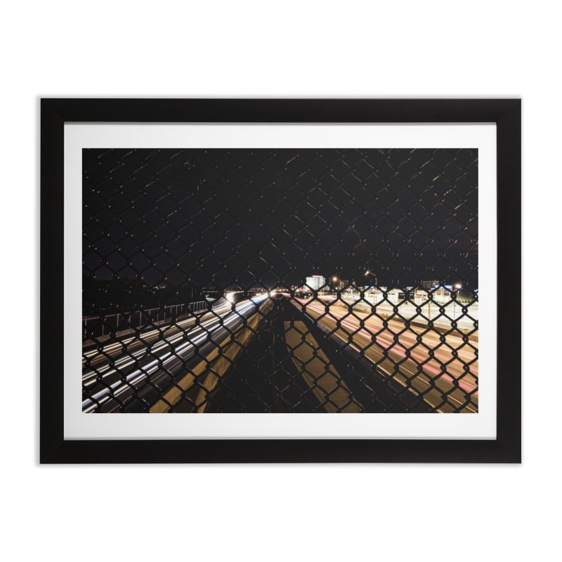 Caged Home Framed Fine Art Print by Hamster Age's Artist Shop