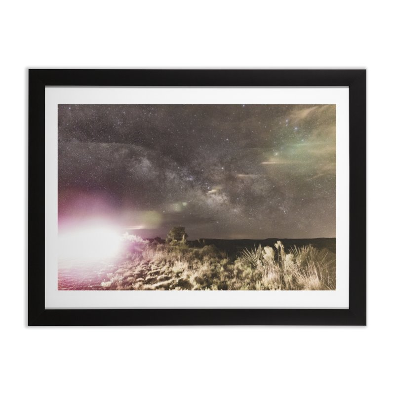 Abduction in Framed Fine Art Print Black by Hamster Age's Artist Shop