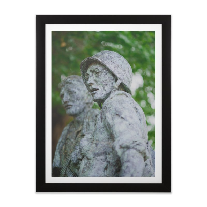 Never Came Home Home Framed Fine Art Print by Hamster Age's Artist Shop