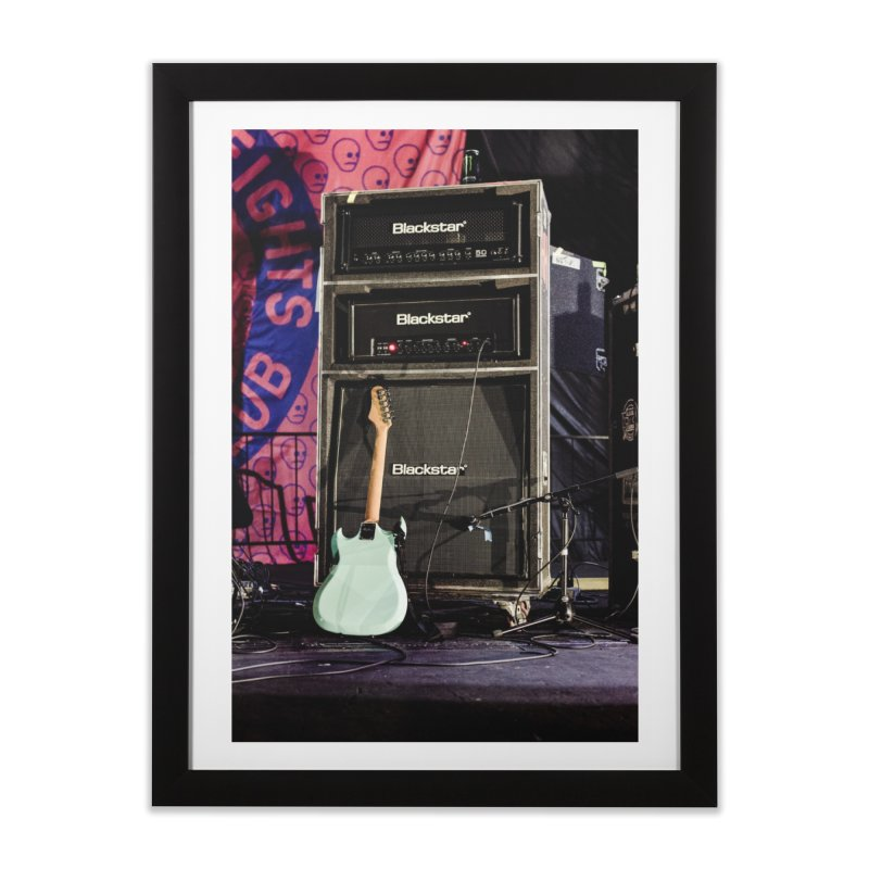 2 Minutes Till Showtime in Framed Fine Art Print Black by Hamster Age's Artist Shop