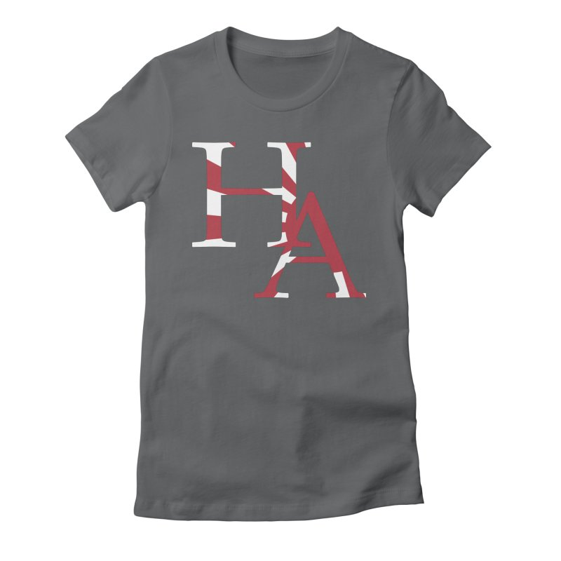 HA Initials Jap Women's Fitted T-Shirt by Hamster Age's Artist Shop