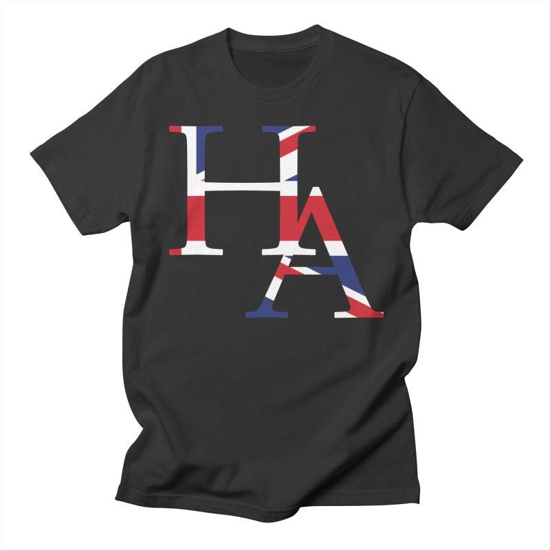 HA UK Men's Regular T-Shirt by Hamster Age's Artist Shop