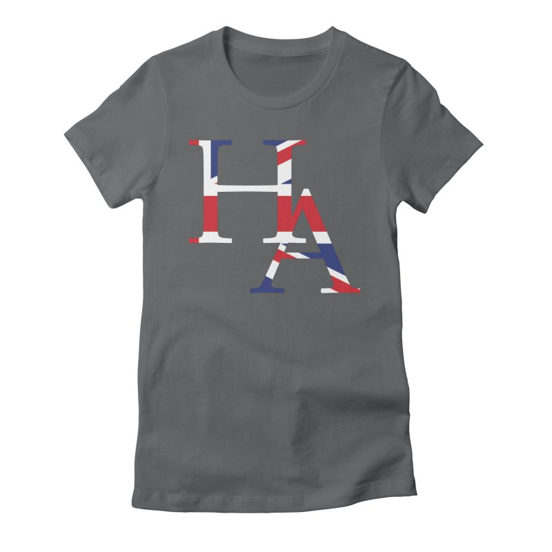 HA UK Women's Fitted T-Shirt by Hamster Age's Artist Shop