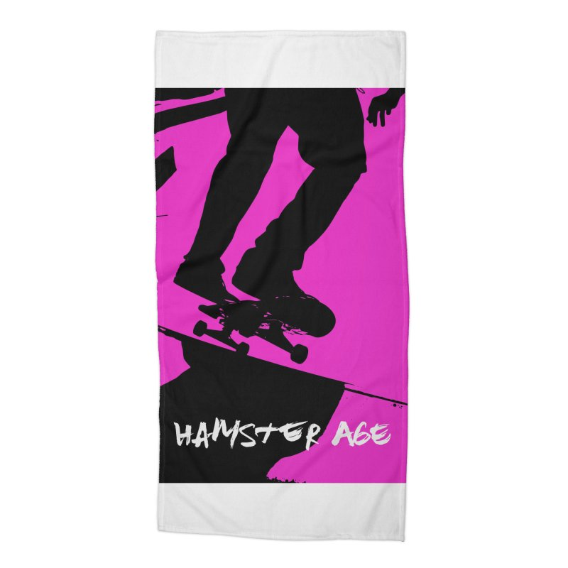 Shut Up and Skate! Accessories Beach Towel by Hamster Age's Artist Shop