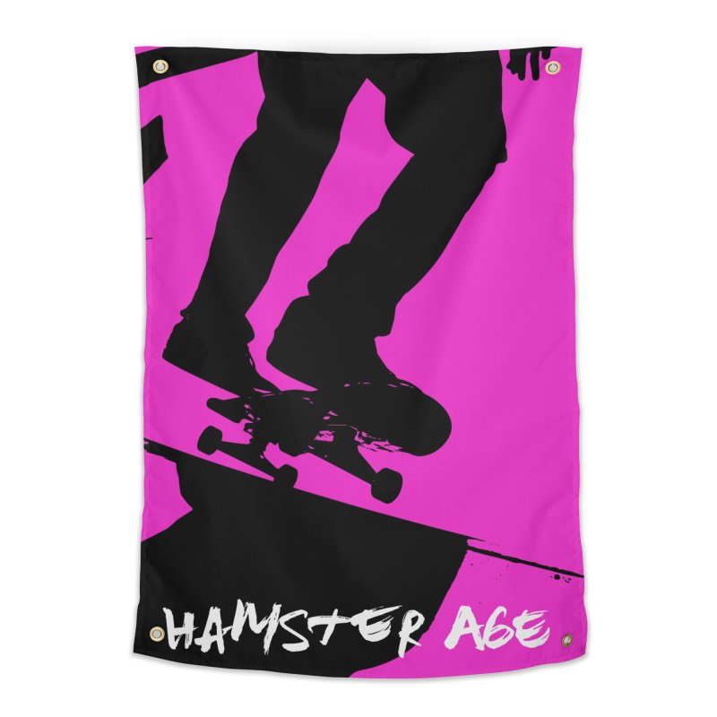 Shut Up and Skate! Home Tapestry by Hamster Age's Artist Shop