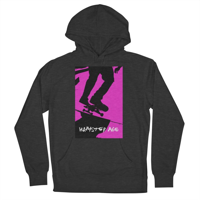Shut Up and Skate! Men's French Terry Pullover Hoody by Hamster Age's Artist Shop