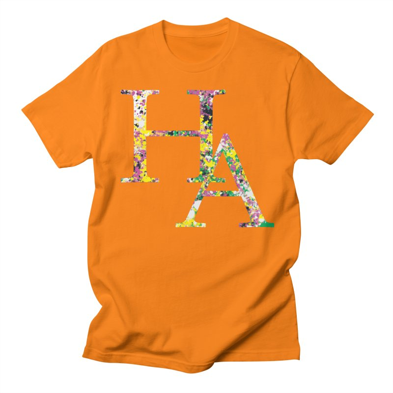 HA Paint Men's T-Shirt by Hamster Age's Artist Shop