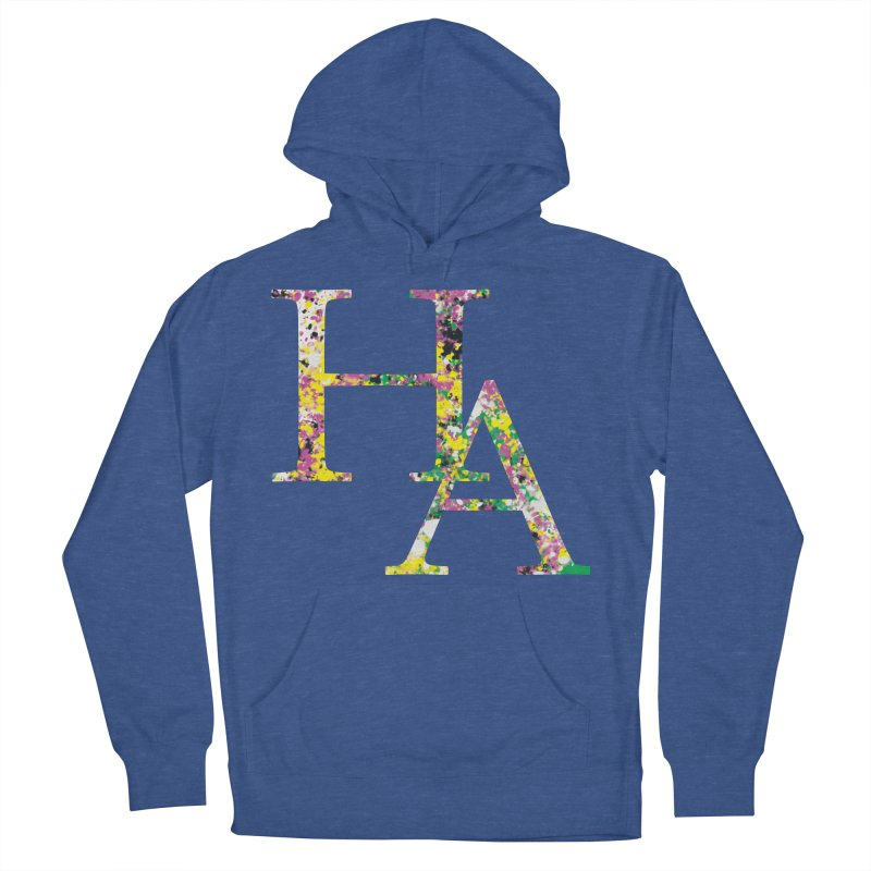 HA Paint Women's French Terry Pullover Hoody by Hamster Age's Artist Shop