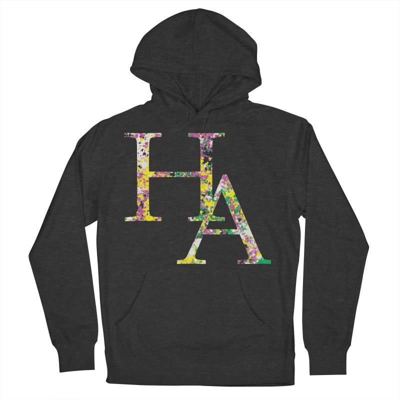 HA Paint Men's French Terry Pullover Hoody by Hamster Age's Artist Shop