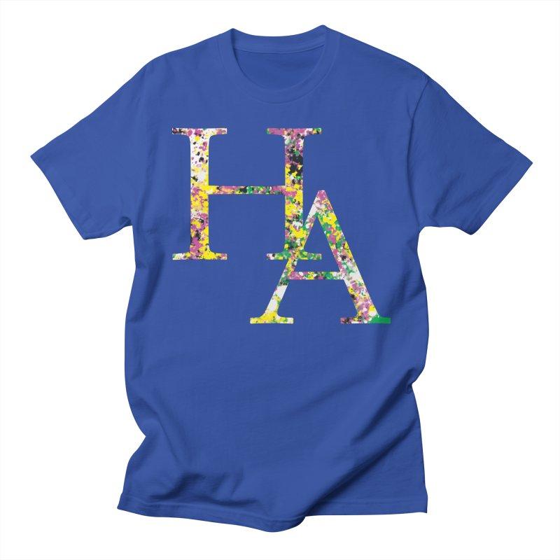 HA Paint Men's Regular T-Shirt by Hamster Age's Artist Shop
